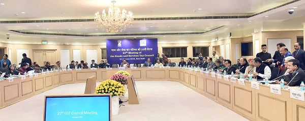 25th GST Council Meeting
