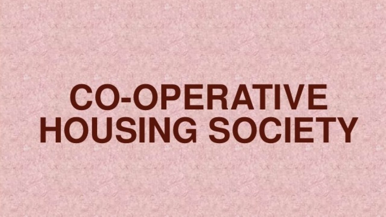 GST on Co-operative Housing Societies