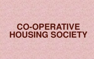 Co-operative Housing Societies