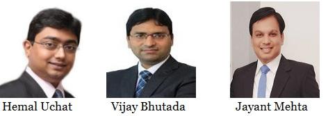 Hemal Uchat, M&A Tax Partner, PwC India, Vijay Bhutada, Director - M&A Tax, PwC India, Jayant Mehta, Manager - M&A Tax, PwC India