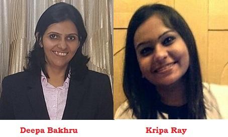 Deepa Bakhru and Kripa Ray