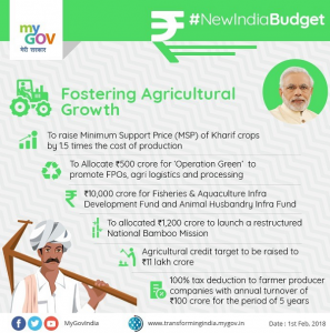 Fostering Agricultural Growth