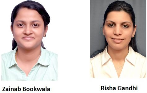 Zainab Bookwala and Risha Gandhi