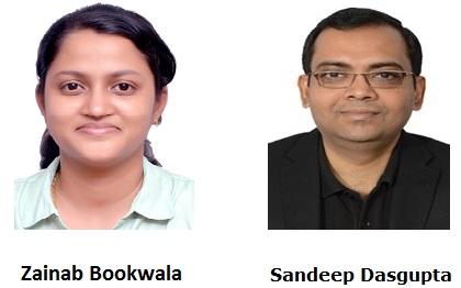 Zainab Bookwala and Sandeep Dasgupta