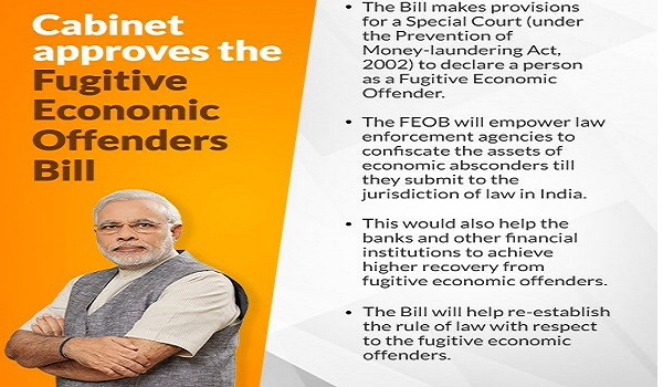 Cabinet approves Fugitive Economic Offenders Bill