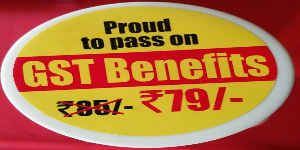 Pround to Pass on GST Benefits