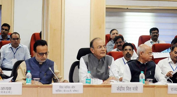 Union Minister Arun jaitley chairs 26th GSTCouncil Meet, in New Delhi