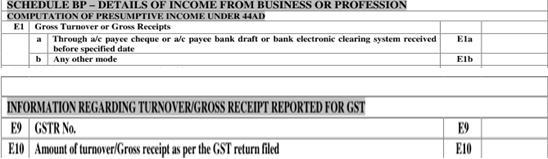 Other Disclosure w.r.t. GST …. cont.