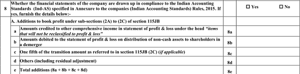New income tax return forms with fresh requirements (8)