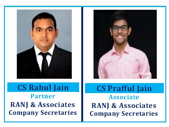 CS Rahul Jain and CS Prafful Jain