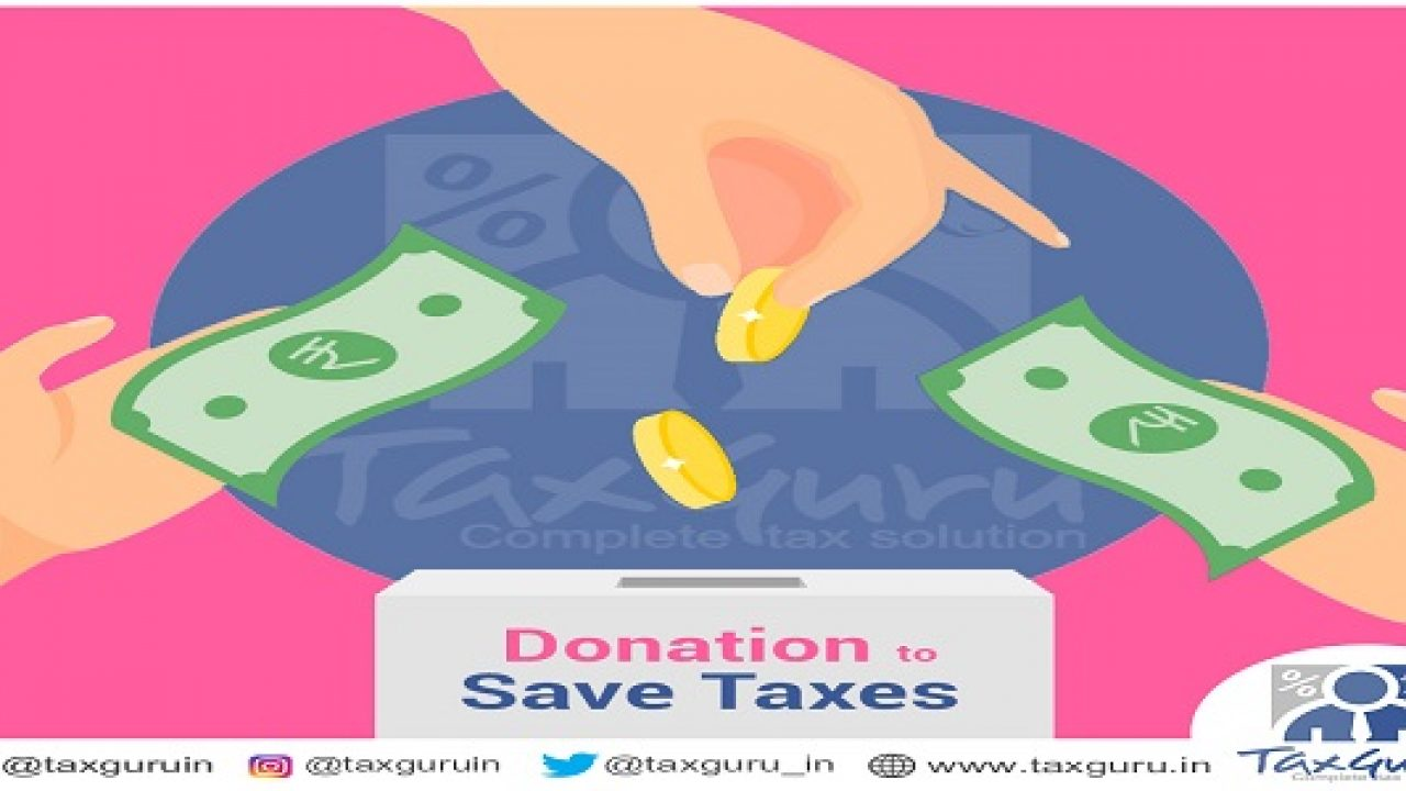 Deduction U/s  80G of Income Tax Act, 1961 for donation
