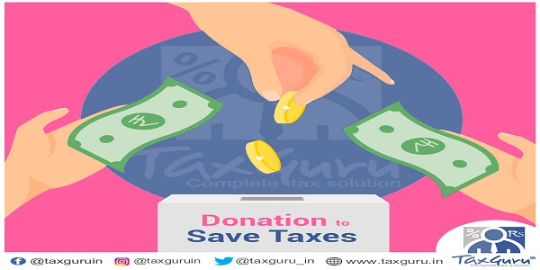 Donation to Save Tax - Section 80G