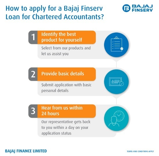 How to apply for Bajaj Finserv Loan for CAs