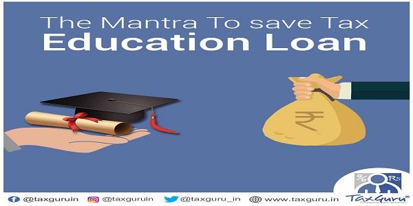 Section 80E Education Loan