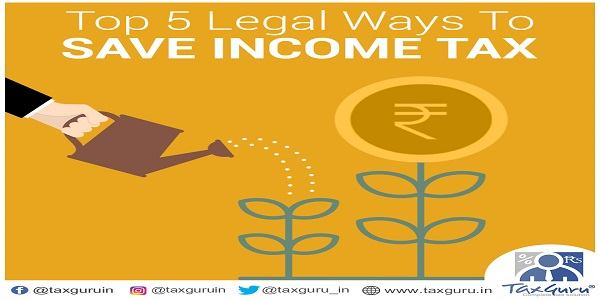 Ways to save income tax