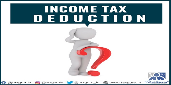 income tax deducation