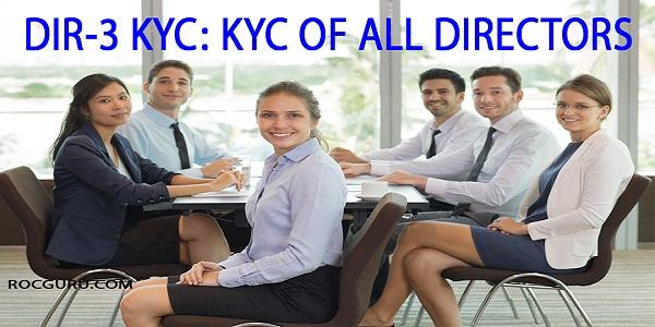Director KYC (DIR-3 eKYC) Norms- All You Need to Know   TaxGuru
