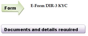 E-Form DIR -3 KYC