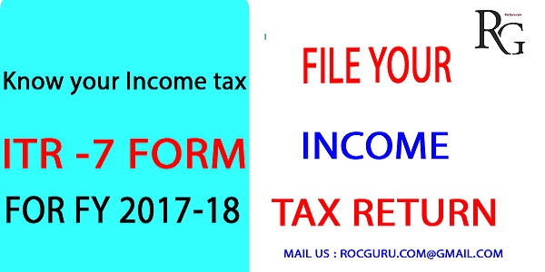 kNOW-YOUR-ITR-FORM-7