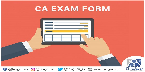 CA Exam Form