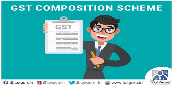 GST Composition Scheme