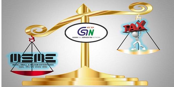 GST TAX MSME