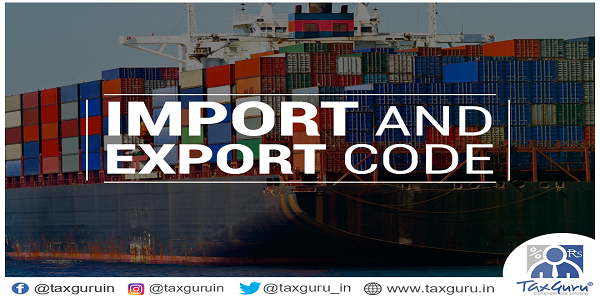 Import and Export Code