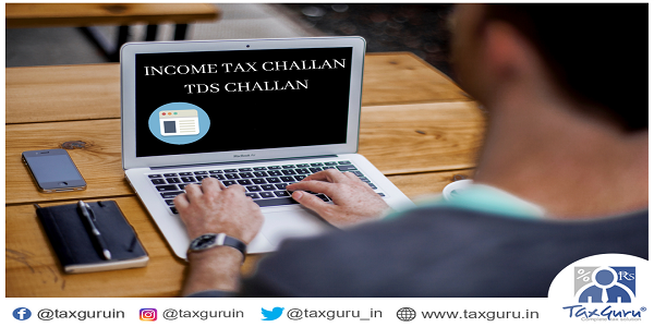 Income Tax Challan TDS Challan