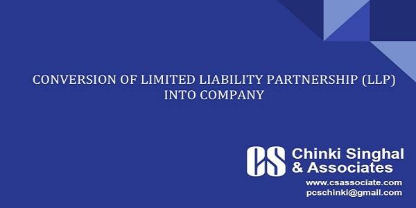 LLP Conversion Into Private Limited Company