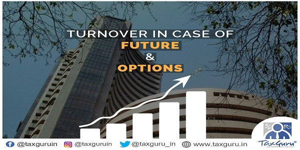 Turnover in case of-Future & options