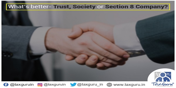 What's better -Trust, Society or section 8 Company