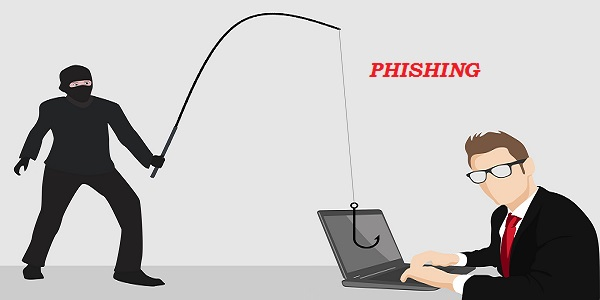 phishing fraud cyber security hacking steal crime