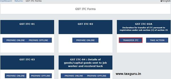 GST ITC-02A Image 2