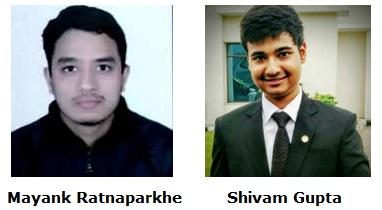 Mayank Ratnaparkhe and Shivam Gupta