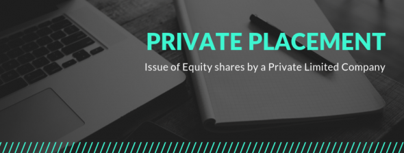 Private Placement of Equity Shares