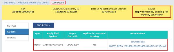 Filing Form GST DRC-06 Image 8