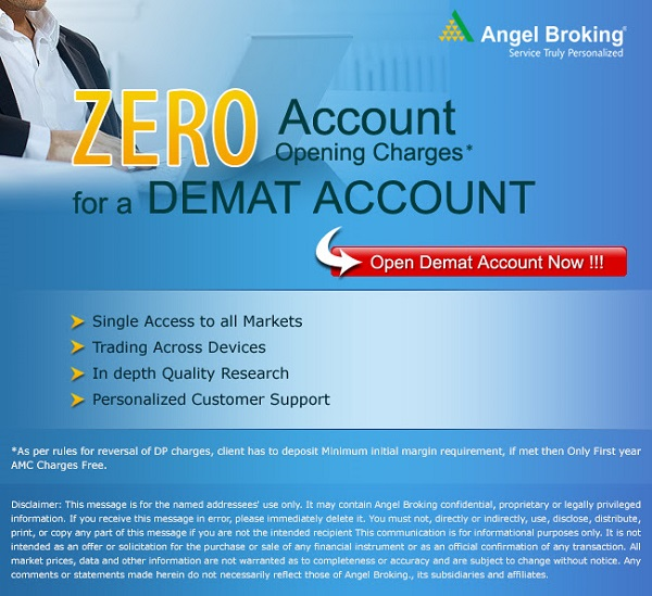 Merits of Opening Demat Account with Angel Broking