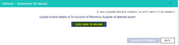 Refund Statement 5B