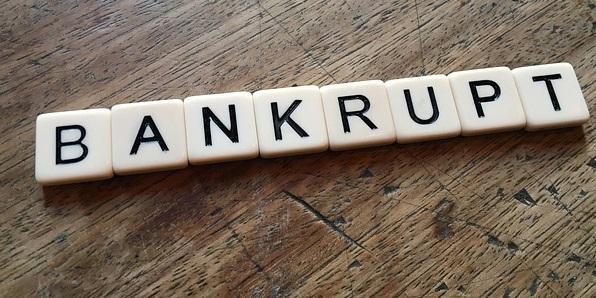 bankrupt insolvent bankruptcy debt insolvency