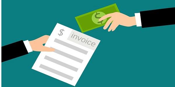 invoice cash payments concept business receipt