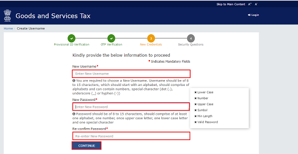 Enrolling With GST Images 5