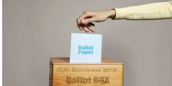 ICAI Election 2018 Ballot Box Ballot Paper