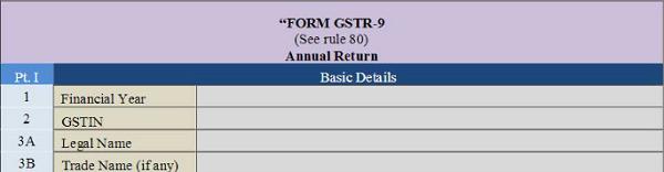 Annual Return GSTR 9 Image 3