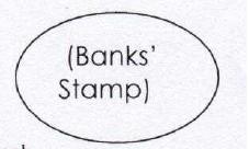 Bank stamp
