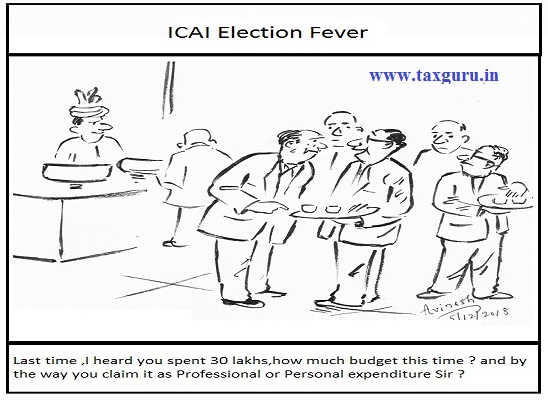 ICAI-Expenditure on Election