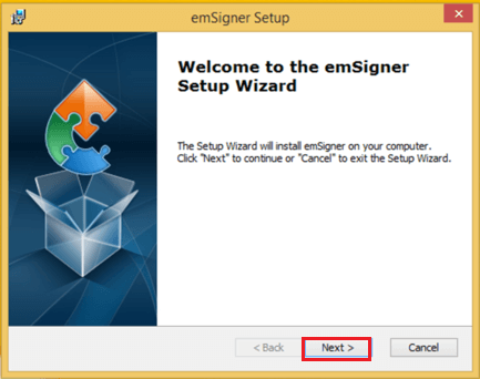 Install emSigner Image 5