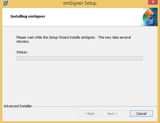 Install emSigner Image 8