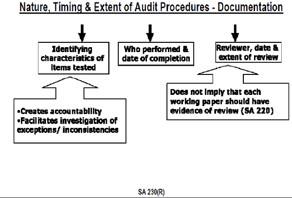 Nature, timing & Extent of Audit procedures