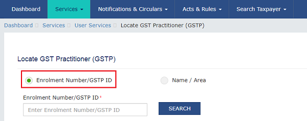 Searching a GST Practitioner Images 2