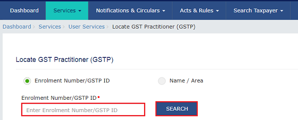 Searching a GST Practitioner Images 3